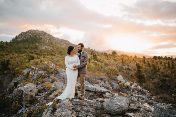 The One Heaven and Earth Wedding photographed by Kobus Tollig